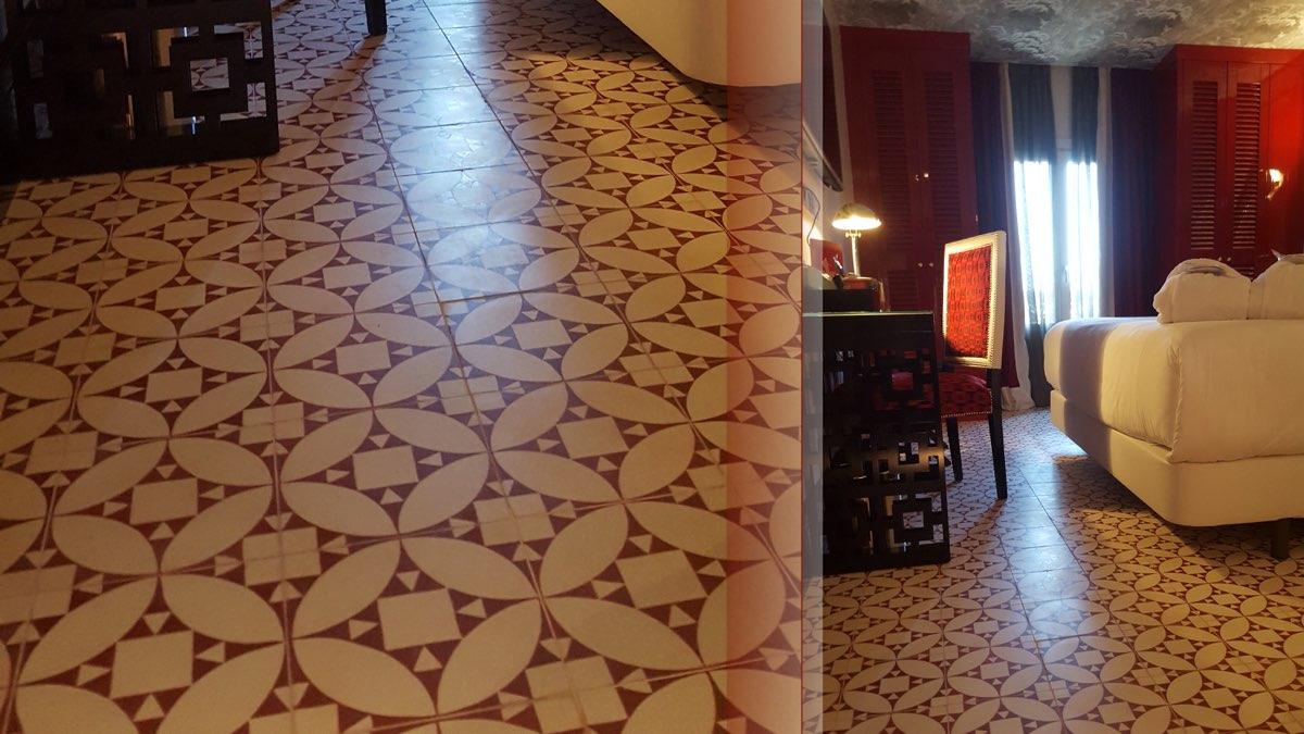 Proyectos BCN TILES HOTEL ROOM MATE ANNA.001